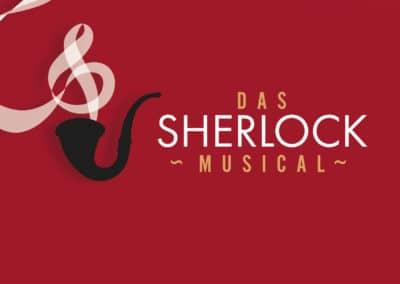 Das Sherlock Musical – Logo und Plakate