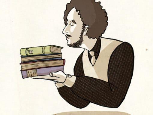 Der Buchhändler – Illustration