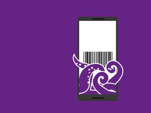 Barcode Oracle – Logo und Illustration