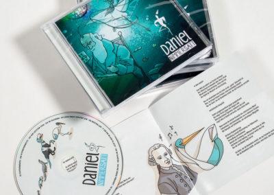 Daniel Nimmersatt – Logo und Illustration