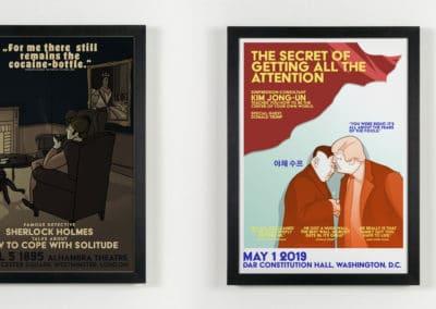 Plakate für Fiktive Events