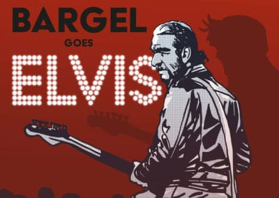 Bargel sings Elvis – Illustration und Plakat