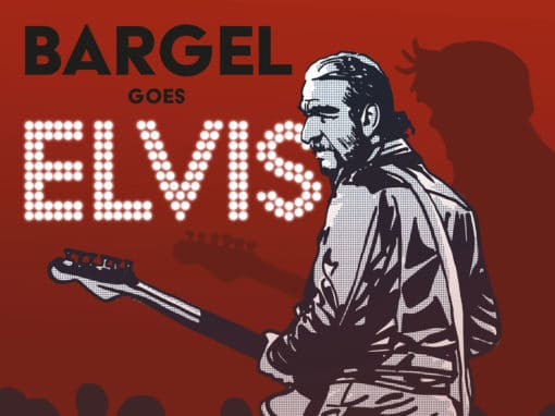 Bargel sings Elvis – Illustration und Plakat
