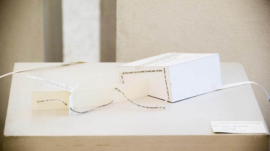 MS06 Boot – Wagen – Chestnuttree 30 × 13 × 7 cm Karton / Papier / Tusche 2013