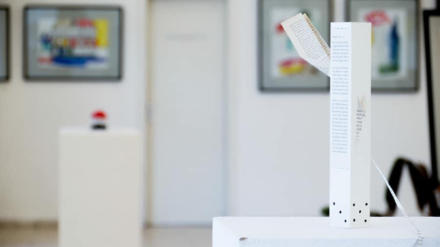 MS10 Ursache, Winston 31 × 16 × 6 cm Papier / Karton / Tusche 2013