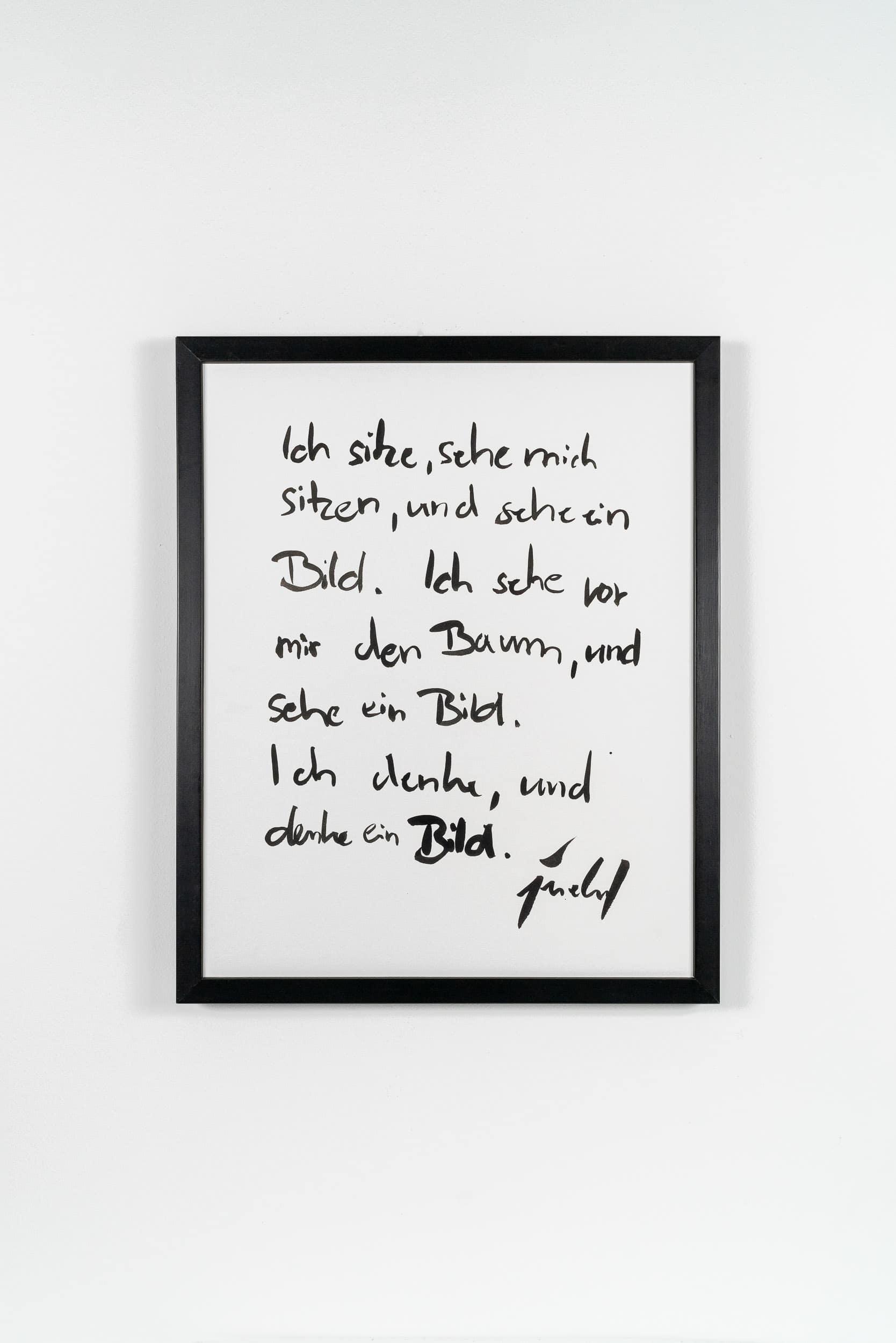 SiL03 Ich sehe ein Bild je 40 × 50 cm Tusche / Kohle / Papier / Scherenschnitt / Text 2013 3 Bilderbuch