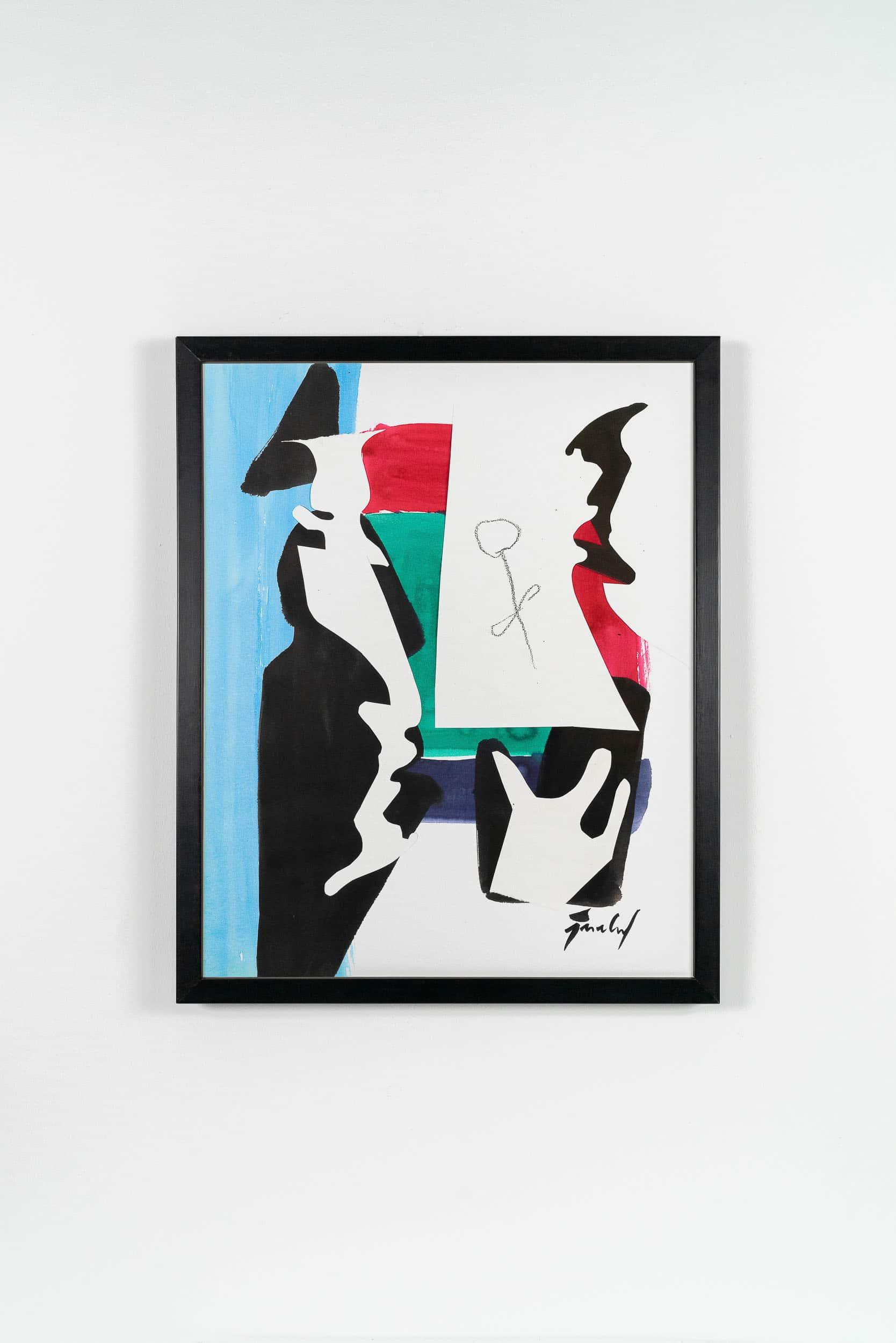 SiL10 Das Bild formen je 40 × 50 cm Tusche / Kohle / Papier / Scherenschnitt / Text 2013 3 Bilderbuch