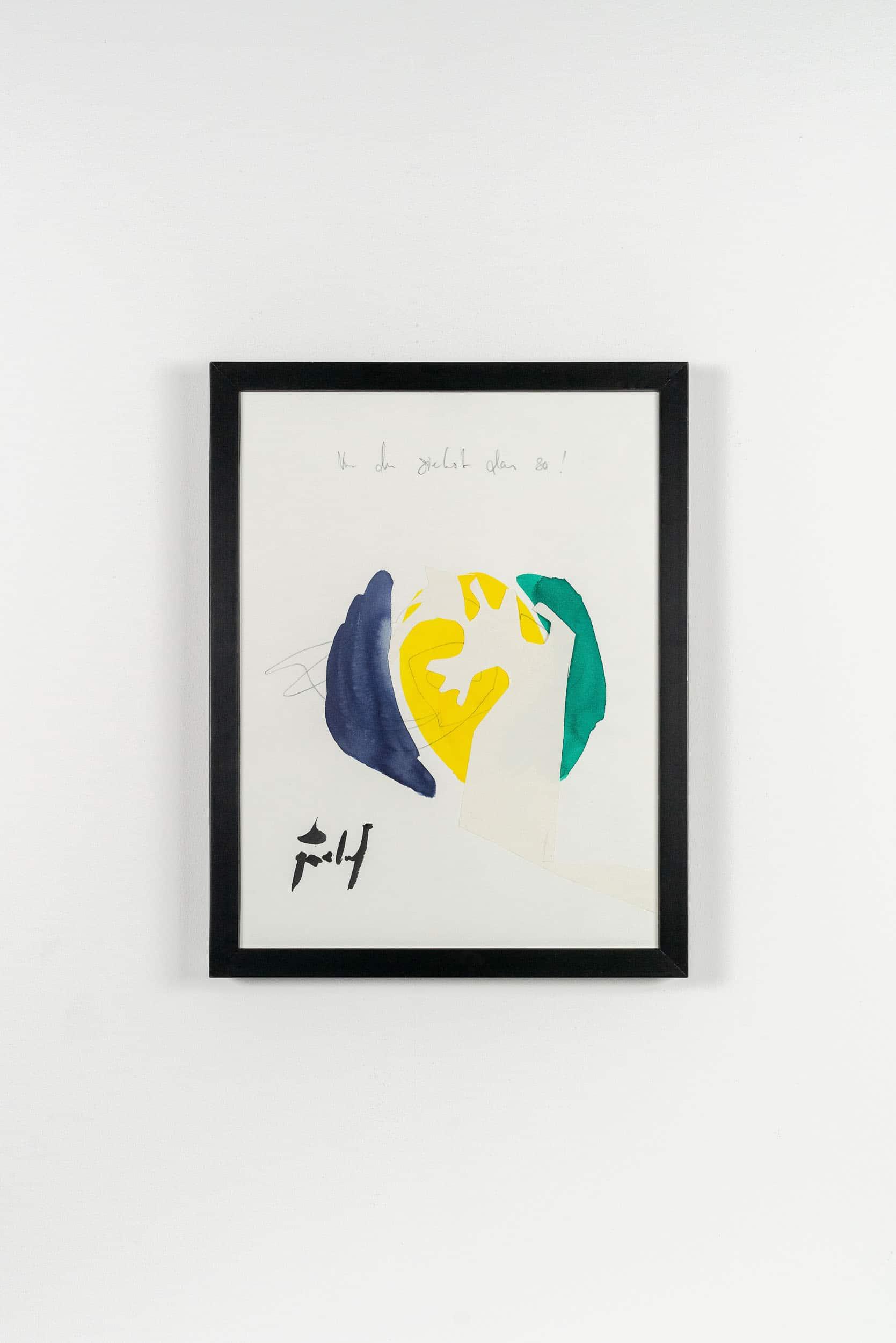 SiL22 Unterschiedliche Ansichten 30 × 40 cm Tusche / Papier / Graphit / Scherenschnitt / Text 2013 5 Identisch