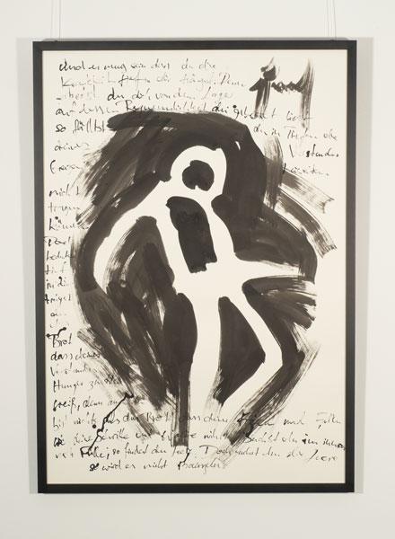 WzG04 Gesundheit der Seele 70 × 100 cm Tusche / Papier