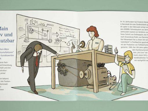 Lebensraum und Technik – Illustrationen