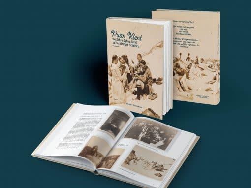 100-Jahre-Chronik – Buchlayout und Satz