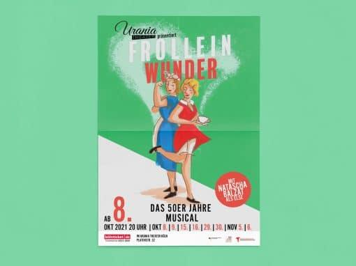 Frolleinwunder – Plakat